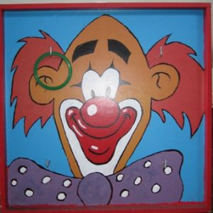 clownskop-ringgooien