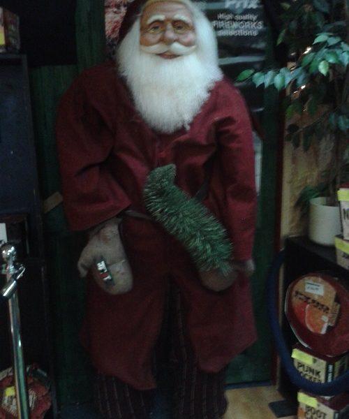 kerstmanbeeld