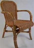 rieten-terrasstoel